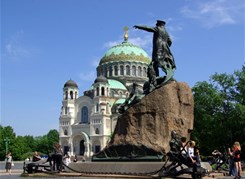 Ораниенбаум(Б.Меншиковский дв.)+Кронштадт