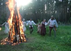 Славянский Праздник Купалы на Медведь - реке (ночной тур)