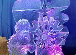 Огни новогодней Москвы (с галереей ледяных скульптур)
