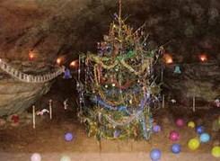 Саблинские пещеры: новогодняя программа